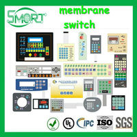 High Quality~~HOT!!~Smart bes~membrane switch sticker,membrane switch with metal domes