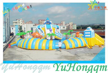 Best new design fashion water slides commercial water park