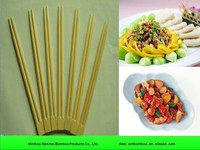 Bulk natural bamboo round disposal chopstick