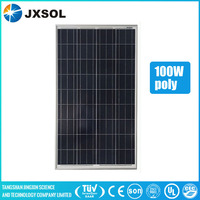 cheapest price 5 years warranty solar panel 100w poly solar module with full certificate and best service