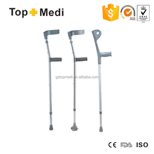 Rehabilitation Therapy Supplies walking cane parts /adjustable height aluminum elbow crutches