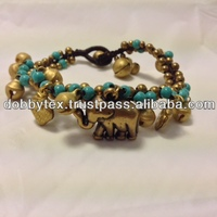 Thailand Handmade Unique Turquoise Bracelet With