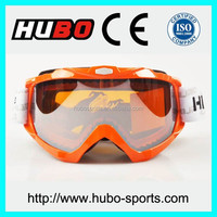 Super comfortable racing goggles durable strap moto cross goggles