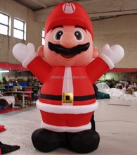 High quality new product advrtising decoration inflatable christmas old man