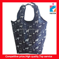 Recycle Foldable 420D Polyester Tote Bag