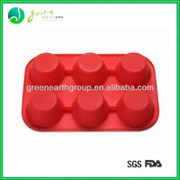 Christmas gifts silicone cupcake bakeware