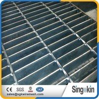 concret steel galvanized steel grating for trench cover plate