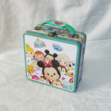 Cartoon Printed Rectangle lunch tin box for kids