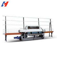 straight line automatic glass edging machine/glass polishing/grinding machine