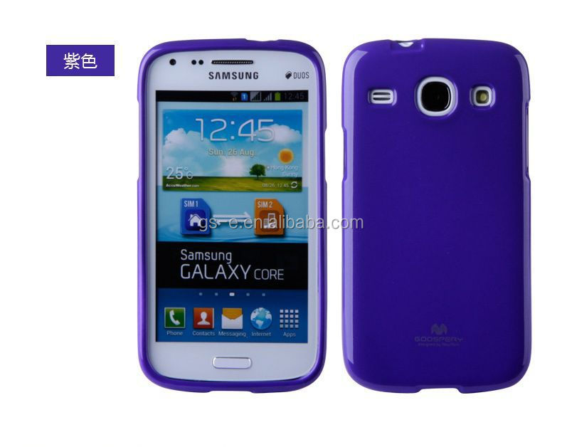 Luxury quality Korea Original Mercury GOOSPERY JELLY soft tpu cell phone case for SAMSUNG GALAXY S2 I9100