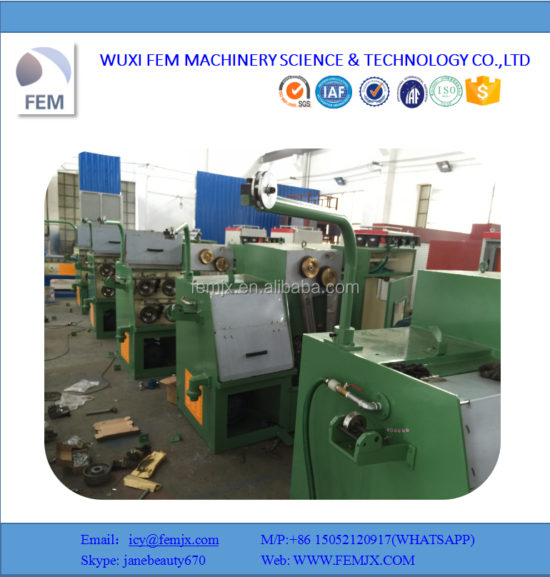 Fine Copper Wire Drawing Machine/Cable Making Machine Equipment