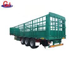 Sheep Cow Pig Cattle Livestock Transport Fence Semi Trailer