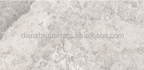 300x600/300x900mm ceramic grey color travertine tiles bathroom wall tiles