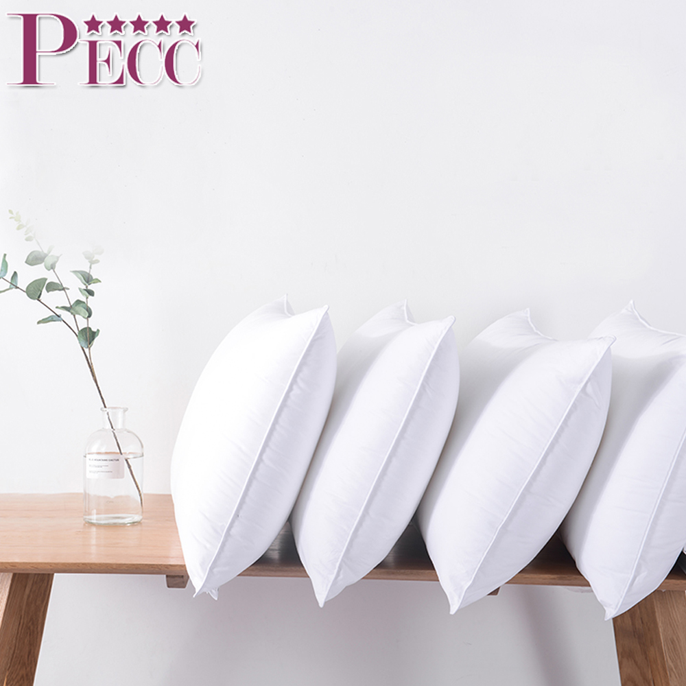 100% Cotton China Supplier 5 Star Hotel Soft Down Feather Pillow