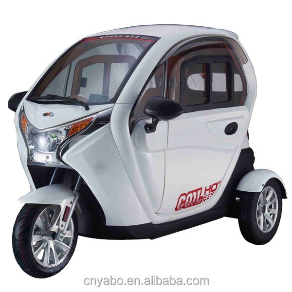 2017 New fasshion Factory Price 3 wheel cabin electric cargo tricycle