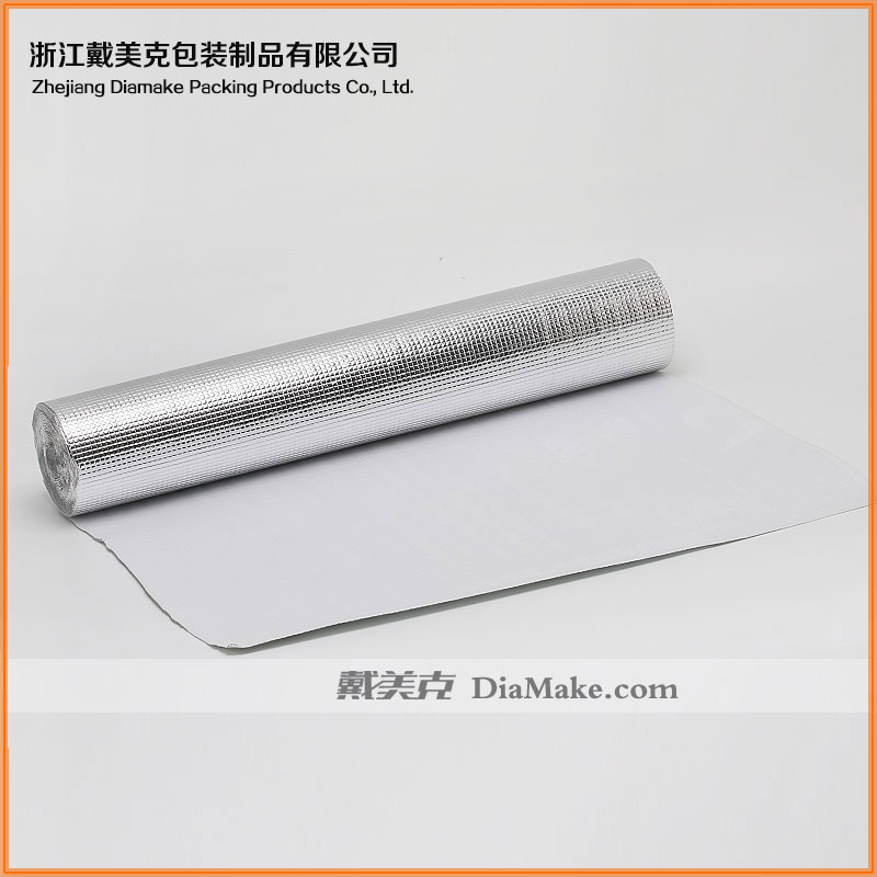 Double Sided Aluminum Foil epe Thermal Insulation Material/ Double Sided Reflective Foil