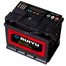 12V DIN standard start power spiral mf super sealed price of lead acid battery