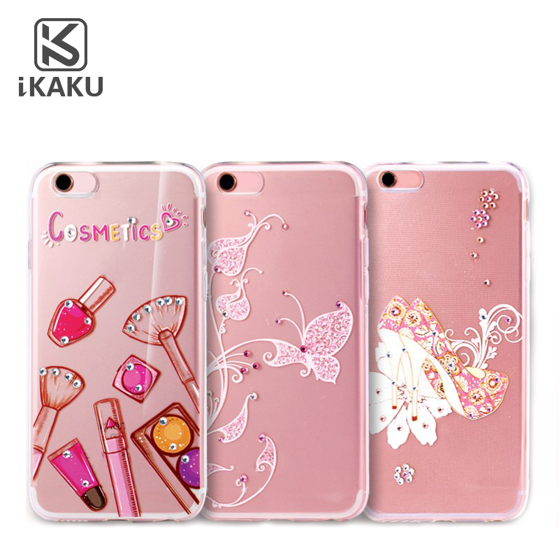 Pearl diamond clear custom girl case for celulares samsung j7 prime s3 j2