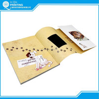 well designed film lamination perfect binding book printing