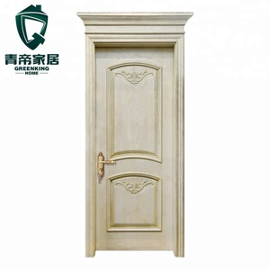 indoor use cheap solid antique carved doors apartment entrance doors