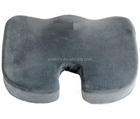 Orthopedic Comfort Foam Seat Cushion (Gray) and Easy Cleaning for Machine Washable