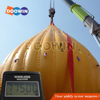 75 Ton Testing Weight Water Bag For Marine Load Testing