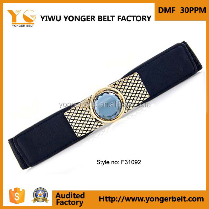 High Quality Rhinestone Decorative Fashion Cute Western Leather Belts For Women
