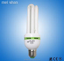 China 40w 3u e27 e14 energy saving light bulbs