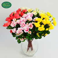 hot sale holiday gift artificial azalea flower for home decoration