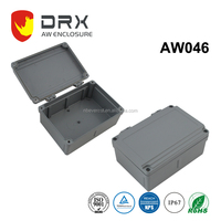 ip67 outdoor Die Cast Electronic extrusion Aluminium Waterproof box with Cable Gland