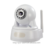 Wireless Security Smart Pan/Tilt control outdoor wireless wifi ip camera with Wi-Fi/Free DDNS, Plug-and-play Function