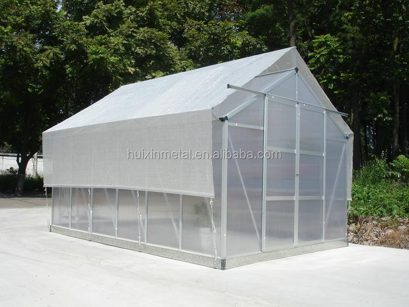 aluminium greenhouse assembly instructions