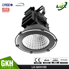 UL Approved #481383, Copper Heat Pipe Design, Stadium Light, Meanwell Driver, 5 Years Warranty, 100W LED Floodlight