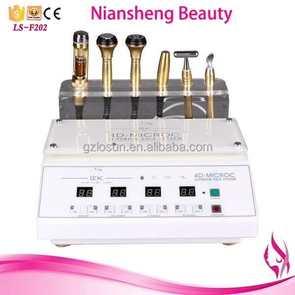 2017 hot sale ultrasonic facial massager / skin tightening machine LS-F202