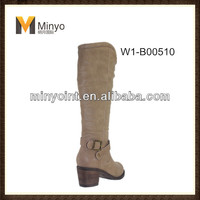 Minyo 2014 Popular Woman Riding knee Boots With Good Quality