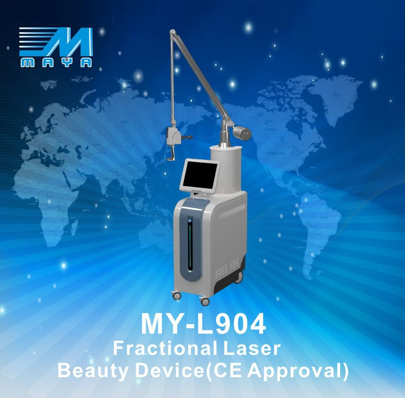 MY-L904 Guangzhou Best Professional Medical CO2 Fractional Laser RF Tube Scar removal skin resurfacing co2 laser machine