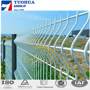 Security Multifunctional Triangle Bended Welded Fence