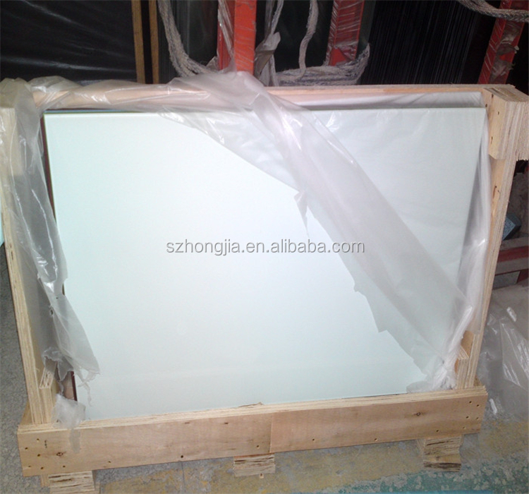 interior gradient pattern tempered silk screen glass for building wall