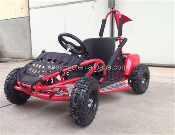 2015 new 1000w 36v 4 wheele pedal go kart skelter for kids with CE certificate