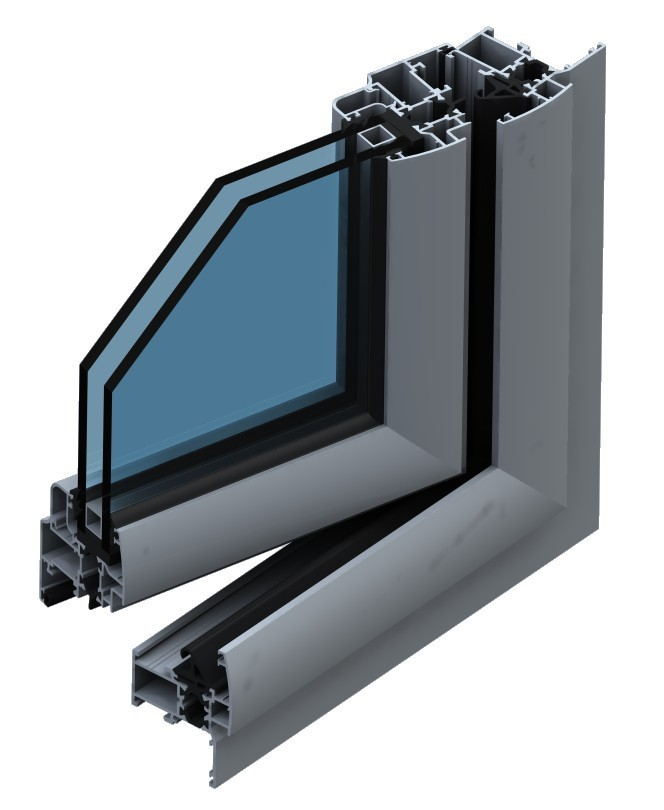 lowest price aluminium sliding windows and doors with single glass/anodized black/powder coated profile