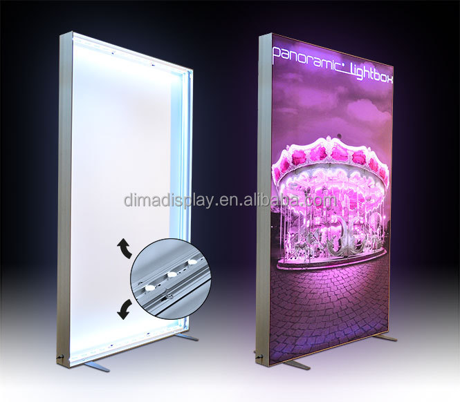 Aluminum custom electric box light,transparency light box