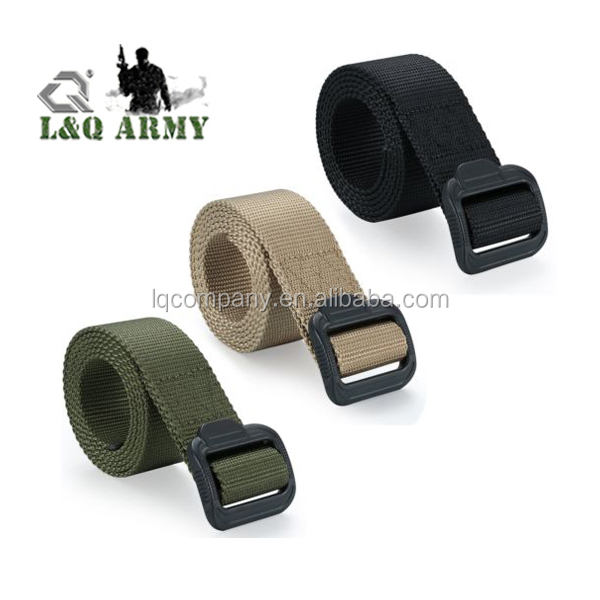 Men's Tactical Combat Belt Buckle Strap Waistband
