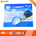 China custom hot sale microfiber eyeglass cleaning cloth