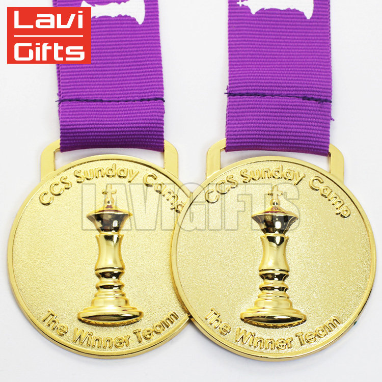 Quality Assurance medal and trophy custom for promotion