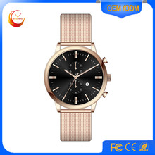 new style men watch stainless steel watch classical watch
