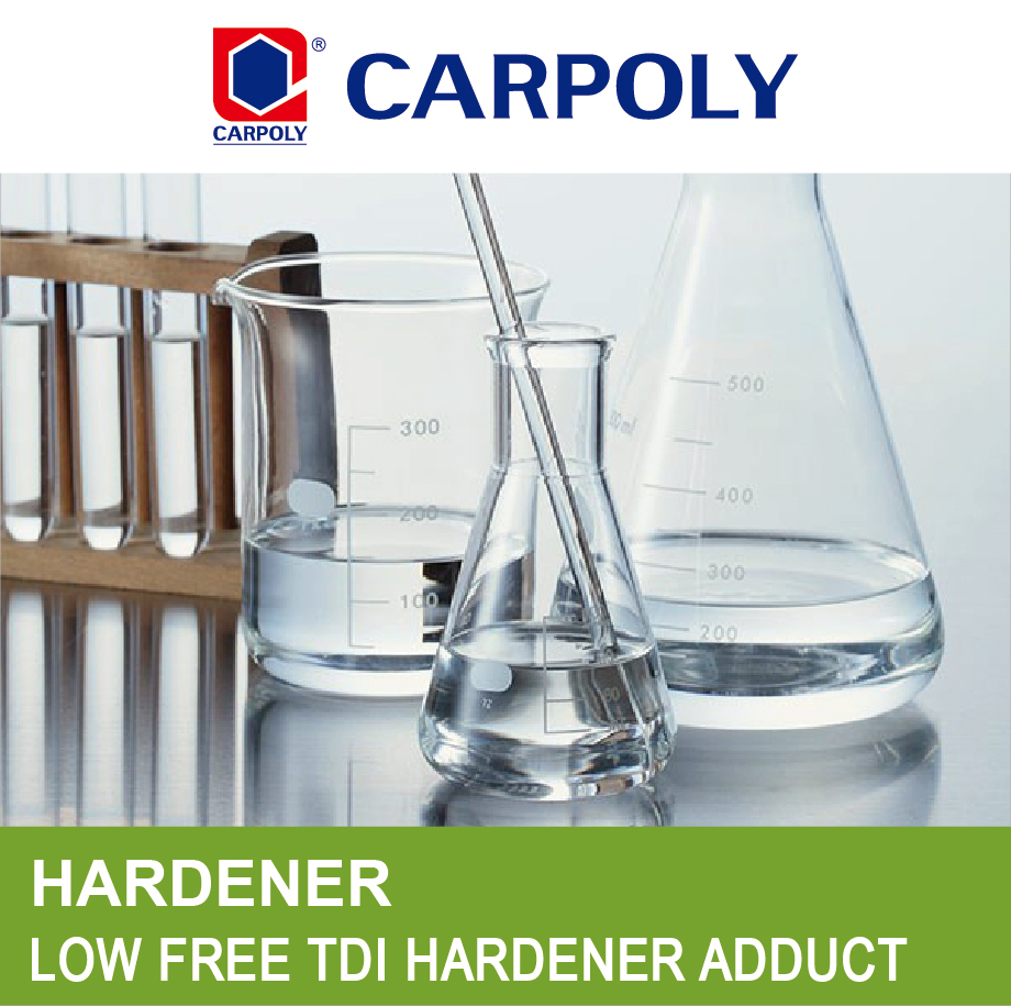 CARPOLY Aromatic polyisocyanate, adduct G21M-75, Low free TDI hardener