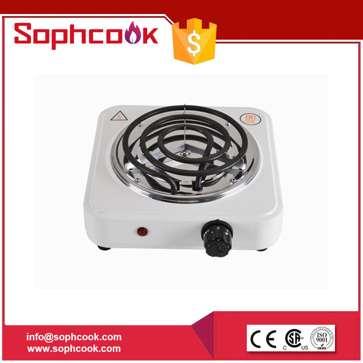single burner electric hot rolled steel plate / coil electric stove