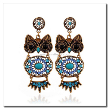 Alibaba Hot Products Owl Polki Jhumka Earrings