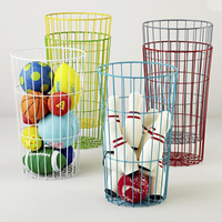Colorful Multifunction Large Iron Wire Ball Storage Basket