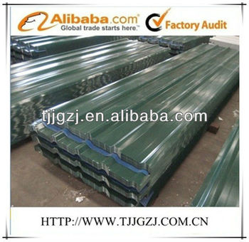 prepainted corrugated steel sheet for roof